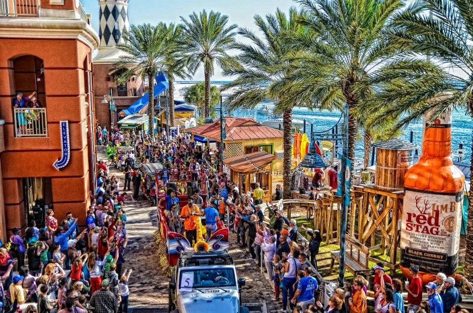 Mardi Gras in Destin Florida
